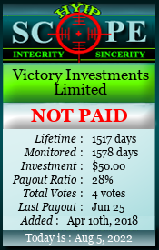 www.hyipscope.org - hyip victory investments limited