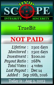 Truebit мониторинг 7